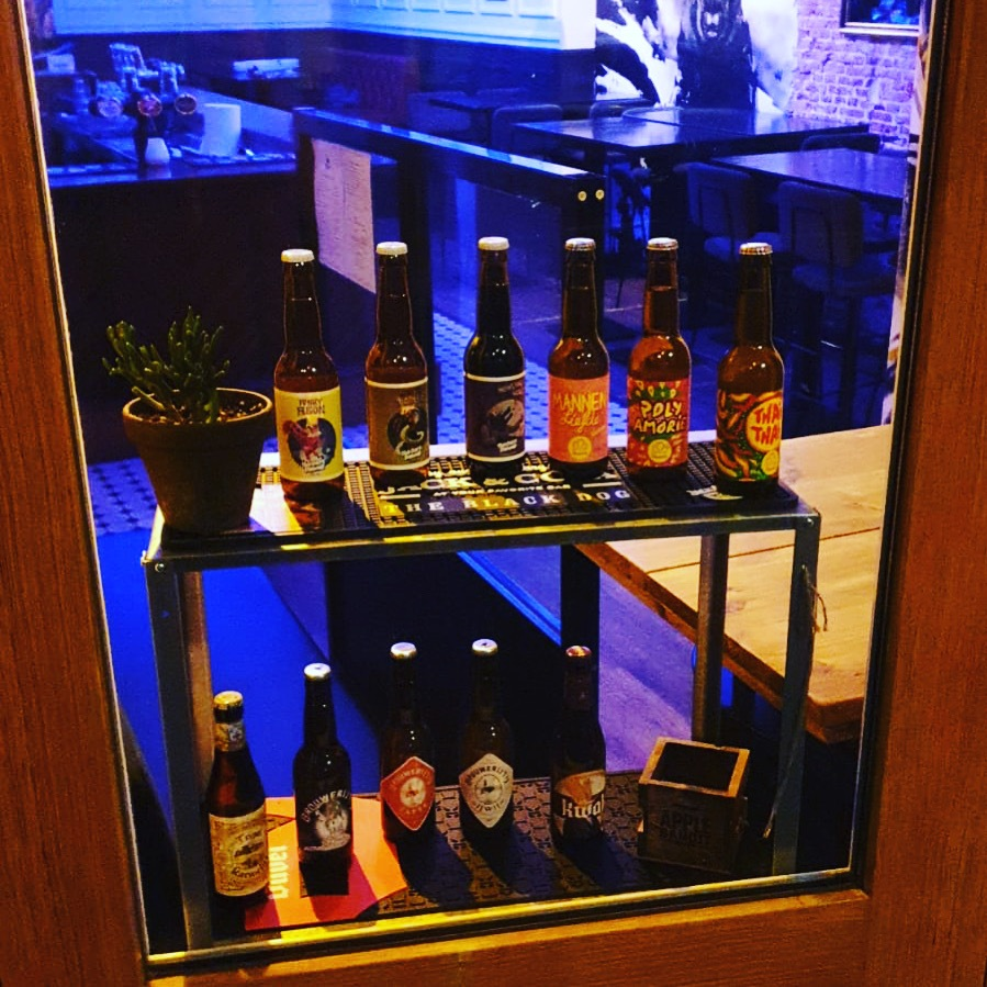 Beers on offer for takeaway April 2021